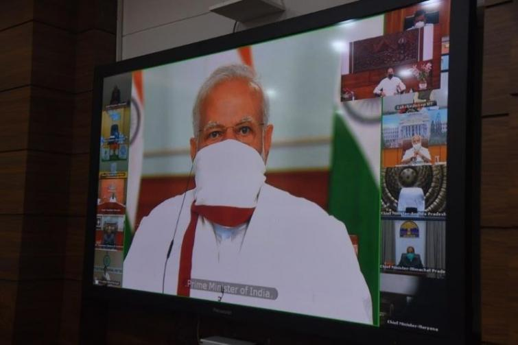 PM Modi to hold meeting with all CMs over Covid-19 situation today, Mamata to skip