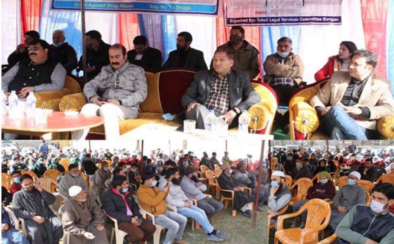 Jammu and Kashmir: Drug de-addiction awareness camp organised in Ganderbal