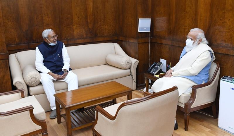 Nitish Kumar meets PM Modi, backs Centre over agriculture laws