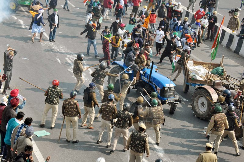 Delhi police arrest 19, lodge 25 FIRs over violent clashes at farmers' tractor rally