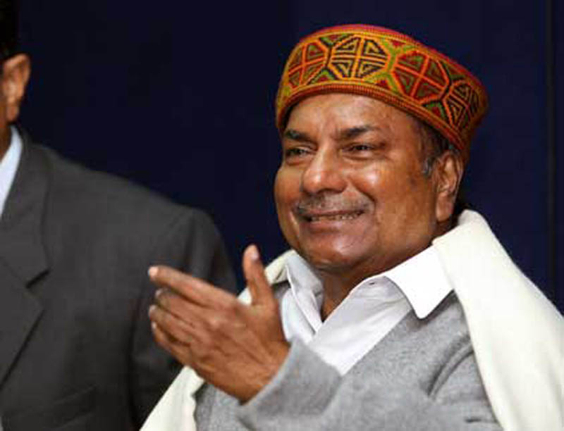 LAC face-off: Congress leader AK Antony slams Centre for disengaging on China's terms