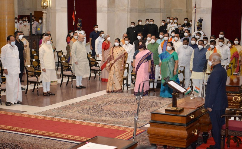 PM Modi cabinet reshuffle: Check out who's got what