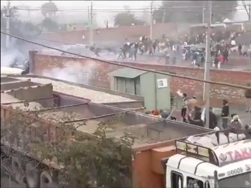 Haryana CM Manohar Lal Khattar cancels 'Kisan Mahapanchayat' after agitating farmers vandalise venue