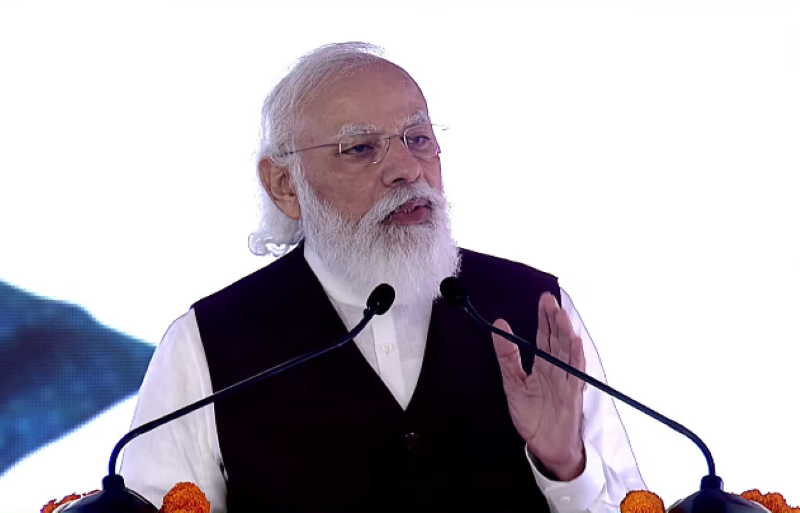 PM Modi slams critics of Central Vista, says new Parliament to be ready in time