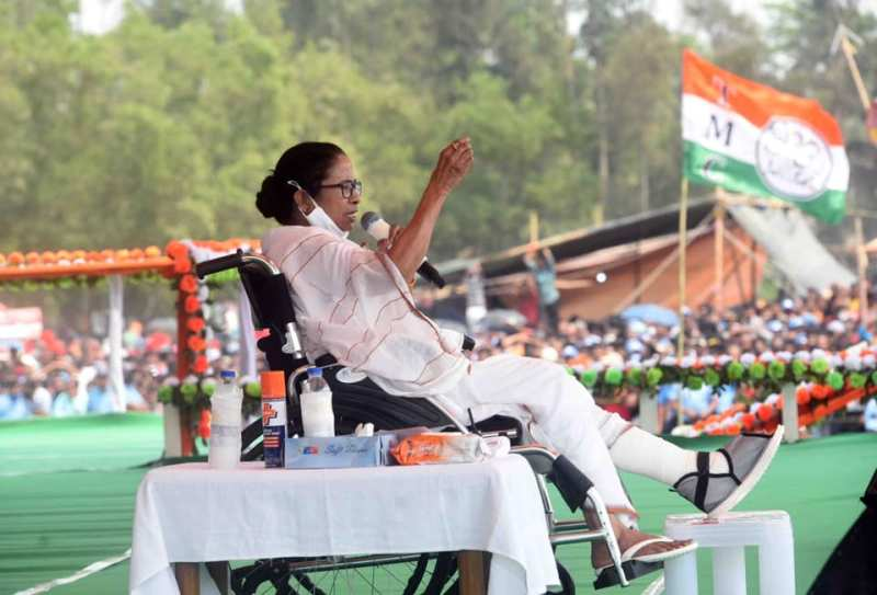Bengal polls: ECI bans Mamata Banerjee from campaigning for 24 hours starting 8 pm tonight