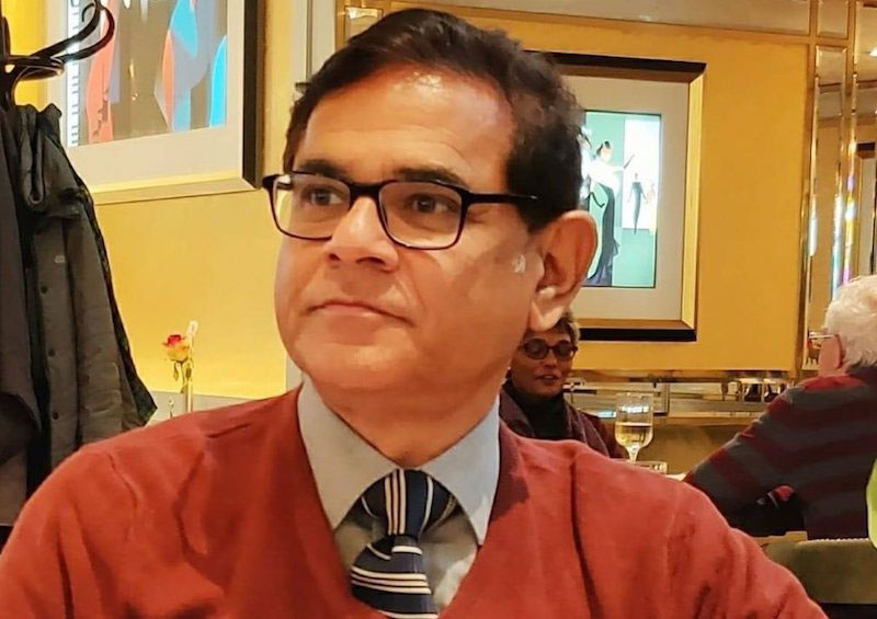 Mehmood M Abdi, a Mumbai based lawyer who also founded the Lucknow-themed YouTube platform Culture Bazaar (Image: FB)