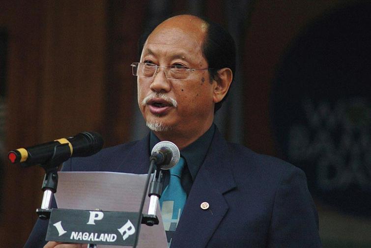 CM Neiphiu Rio launches Nagaland Covid -19 information app