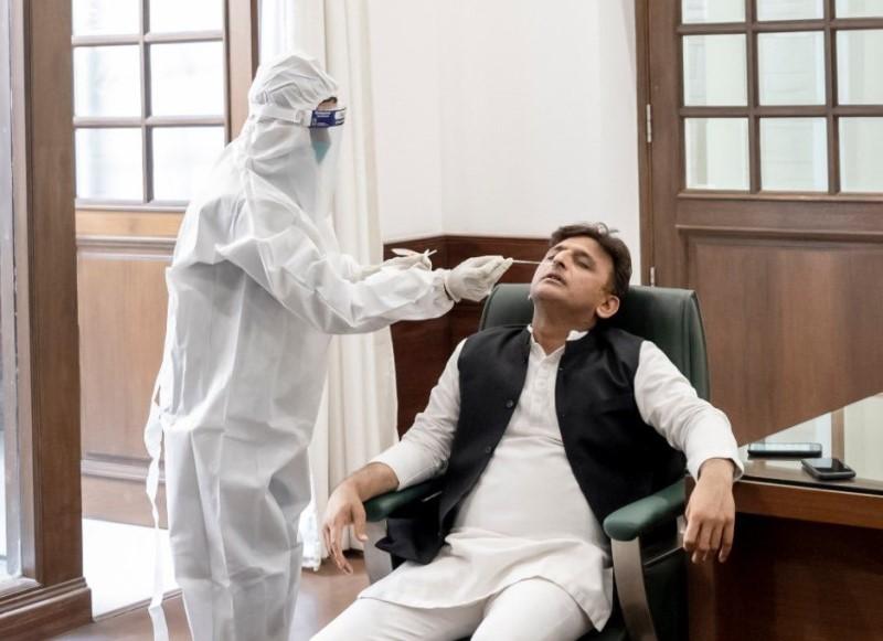 Akhilesh Yadav tests Covid-19 positive, isolates himself