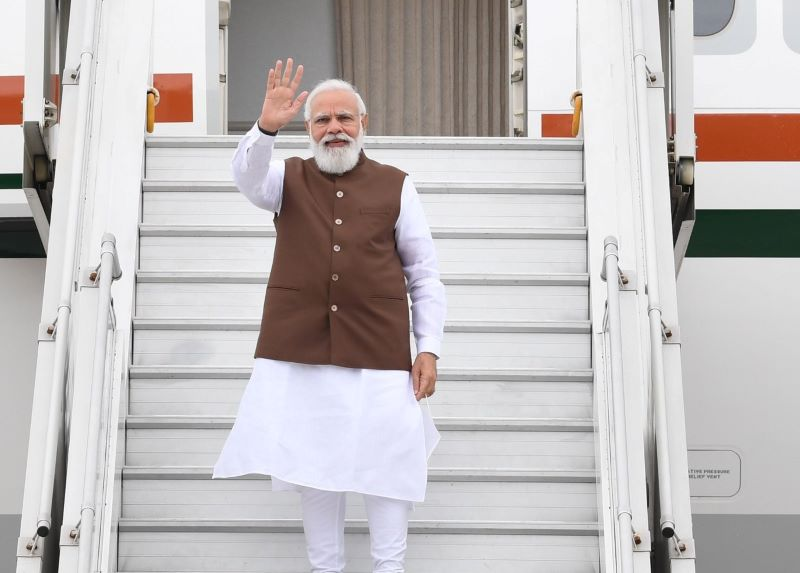 PM Modi leaves for the US, says will review 'Global Strategic Partnership' with Joe Biden