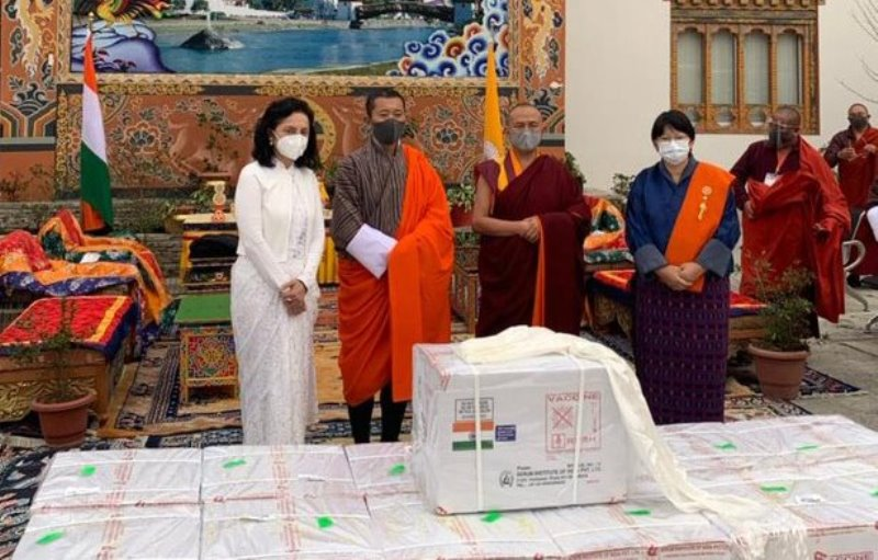 Neighbourhood First: India sends COVID-19 vaccine to Bhutan