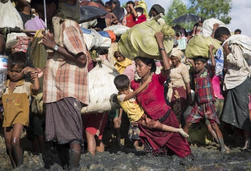 On August 25, 2017, nearly 740,000 Muslim-majority Rohingya fled Rakhine State for Bangladesh. Photo: UNHCR/Roger Arnold