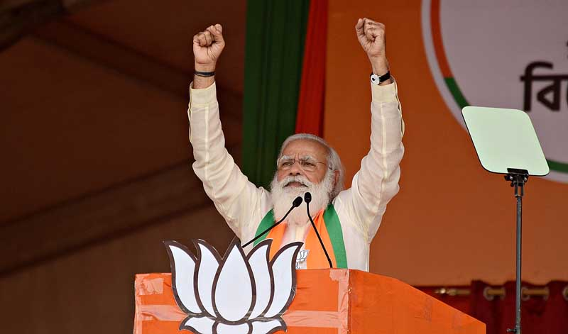 PM Modi cancels visit to poll-bound West Bengal to chair Covid-19 meeting