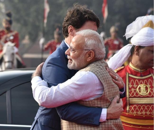 Look forward to continue working with you: Narendra Modi tweets congratulating Justin Trudeau