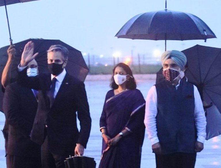 US Secretary of State Antony Blinken arrives in India, to hold talks with leaders tomorrow
