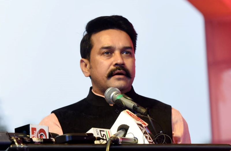 Wastage of vaccines unfortunate in Congress-ruled states: Anurag Thakur