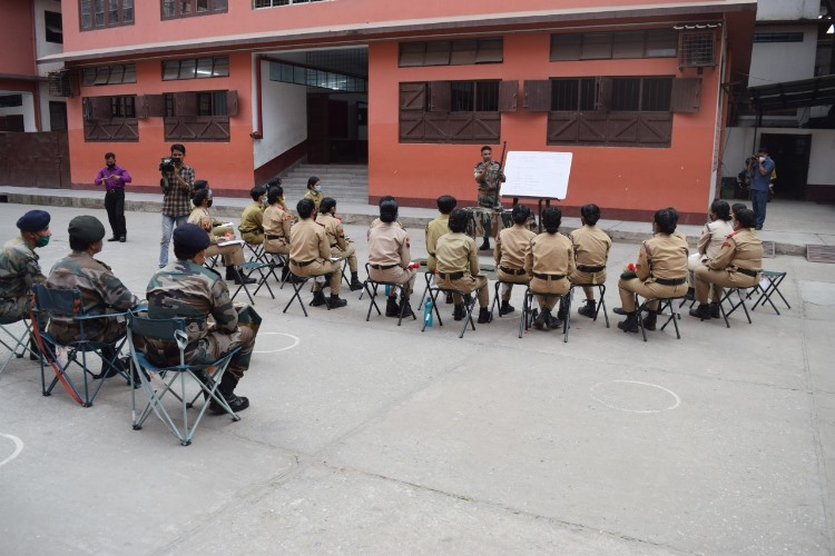 Annual training camp of 60 Assam Girls Battalion NCC commence in Guwahati