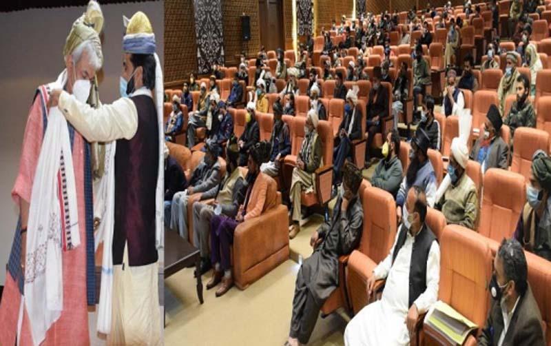 Jammu and Kashmir: Lt Governor Manoj Sinha interacts with 150 member delegation of Gujjar-Bakerwal Community