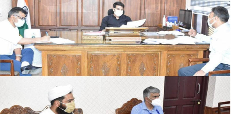 Jammu and Kashmir: DC Srinagar chairs meeting for rehabilitation of children affected by Covid
