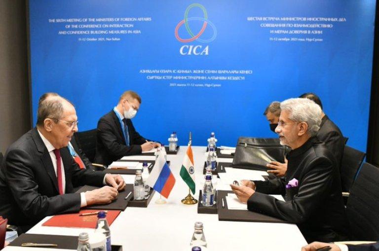 S Jaishankar meets Russian counterpart Sergey Lavrov, discuss Afghan situation