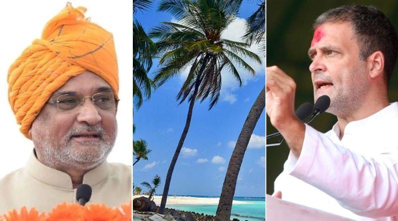 Ignorant bigots in power destroying Lakshadweep: Rahul Gandhi