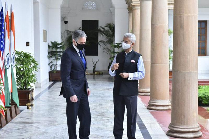 Had a warm discussion: Antony Blinken tweets after meeting S Jaishankar