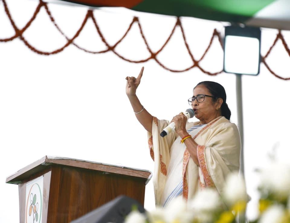Centre's insensitive attitude towards farmers caused violence in Delhi: Mamata Banerjee