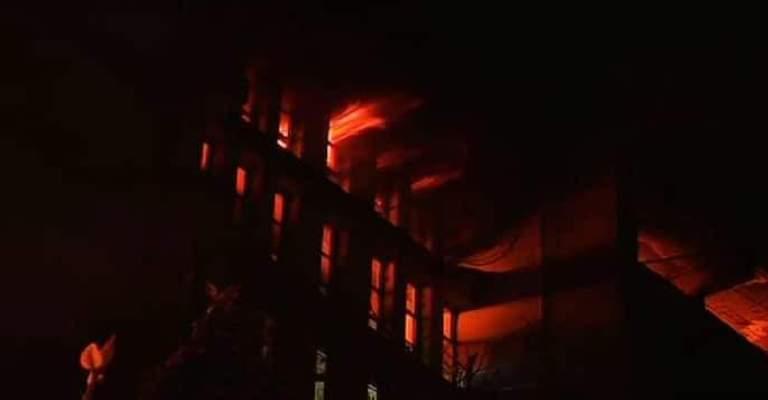Fire breaks out in Kolkata multi-storey, firefighting ops underway
