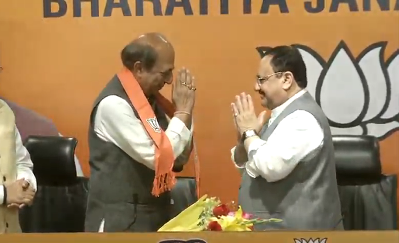 This is a golden moment for which I was waiting for: Dinesh Trivedi after joiningBJP