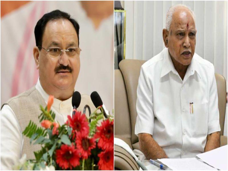 Karnataka succession: Nadda rebuffs speculations on BSY's exit