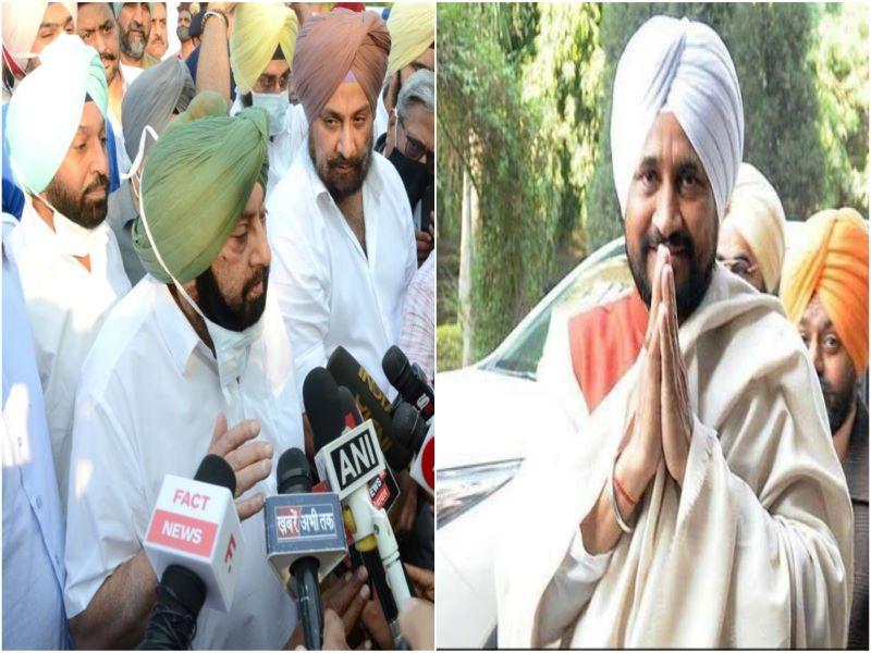 'Best wishes to Charanjit Singh Channi': Amarinder Singh to Punjab CM-designate
