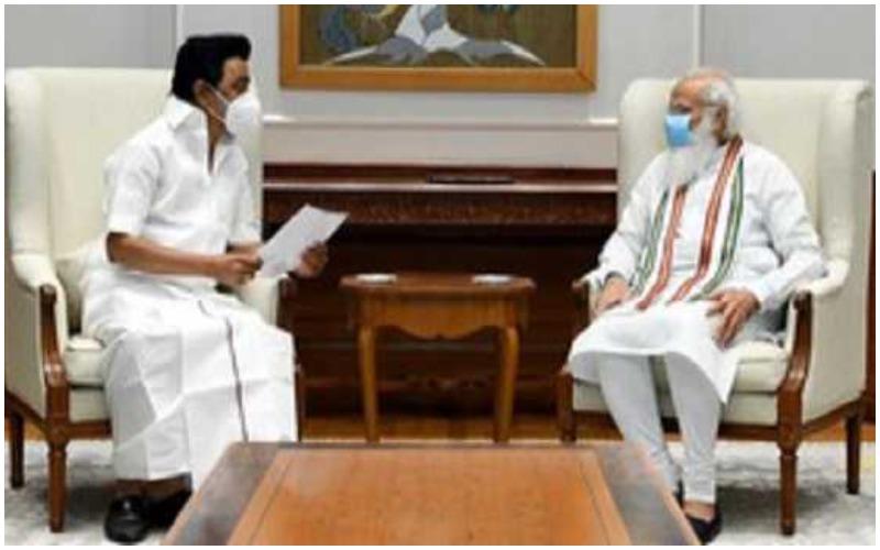 Stalin meets Modi, discusses issues concerning Tamil Nadu