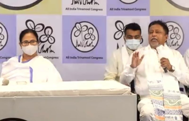Mamata welcomes back Mukul Roy to TMC, shuts door for pre-poll turncoats