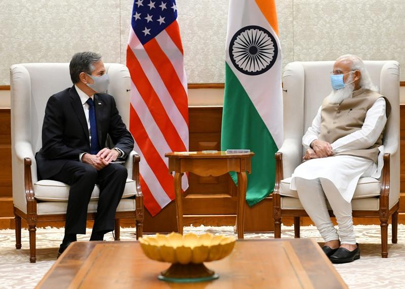 US Secretary of State Antony Blinken calls on PM Modi, commits to deepens strategic relations