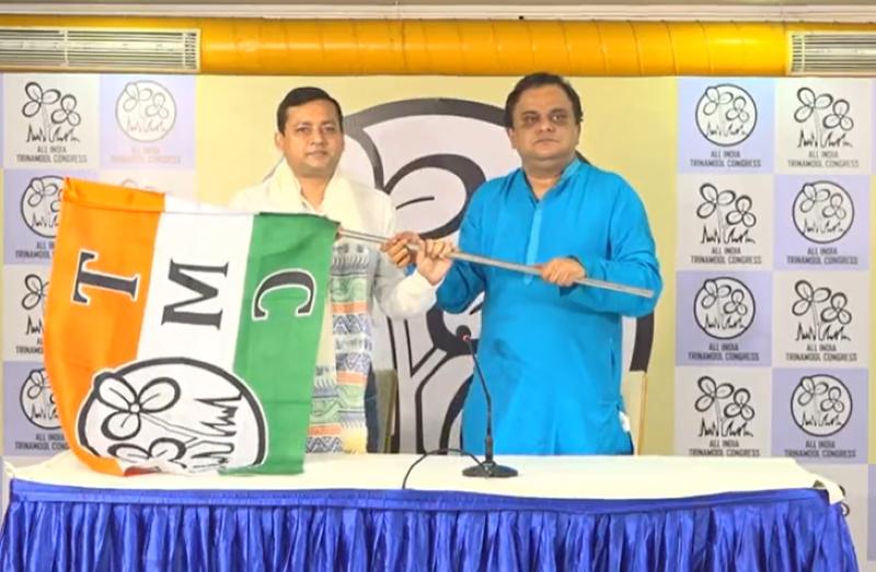 Bengal: BJP's Bishnupur MLA Tanmoy Ghosh joins TMC