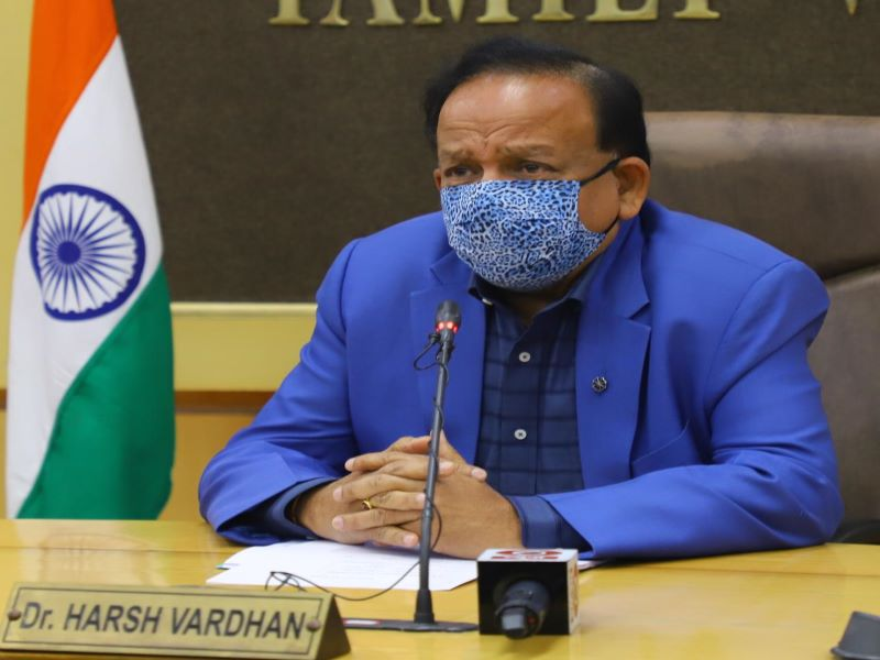 NCP lashes out at Union Health Min Harsh Vardhan over 'COVID politics'