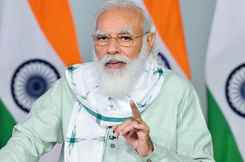 PM Modi urges Indian diaspora to sing and upload videos of national anthem for creating 'Rashtra Gaan' record