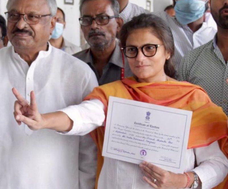 TMC's Sushmita Dev elected to Rajya Sabha unopposed