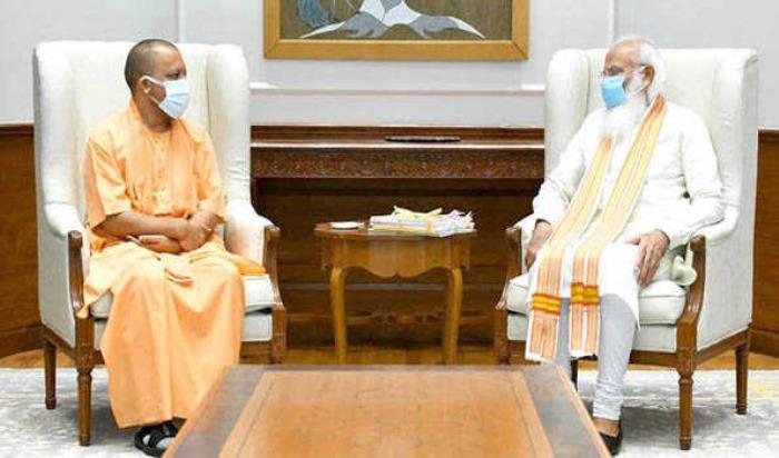 Yogi Adityanath apprises PM Modi of steps taken to combat COVID-19 in UP