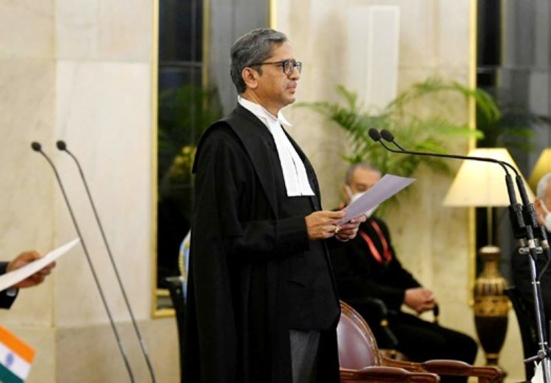 Chief Justice NV Ramana expresses concern over Delhi courtroom shooting