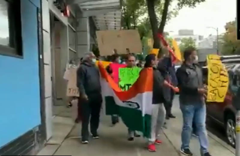 Canadian Hindus protest killing of Kashmiri pandits in 1990s