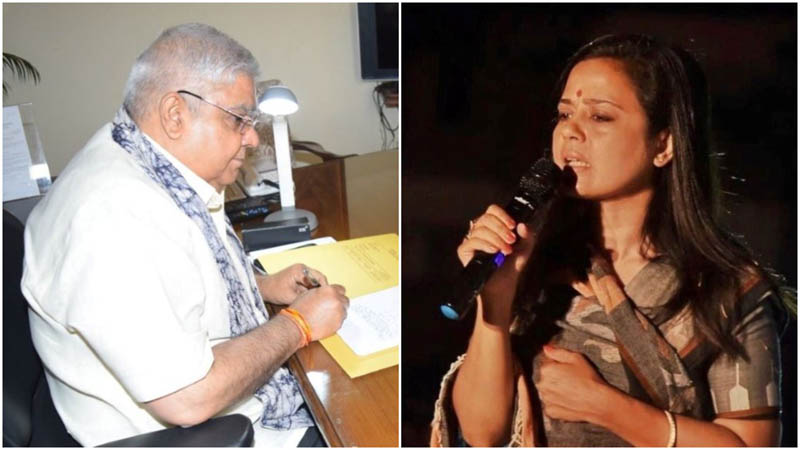 Beneficiary of illegal residential land allotment: TMC's Mahua Moitra brings fresh corruption charge against Dhankhar