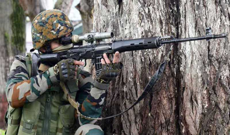 Jammu and Kashmir:Local militant killed in Srinagar encounter