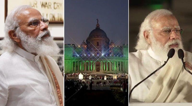 'Netaji an inspiration for Atmanirbhar Bharat and Sonar Bangla': PM Modi in Kolkata