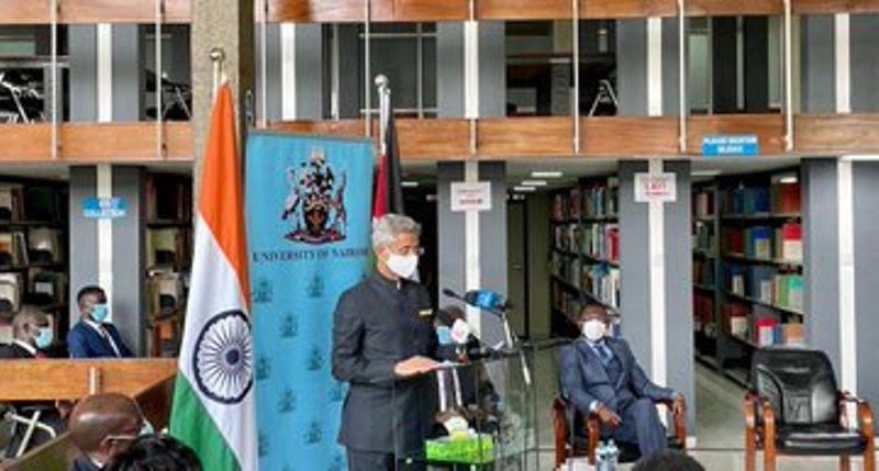S Jaishankar feels India and Africa must strive together to attend decentralized globalization