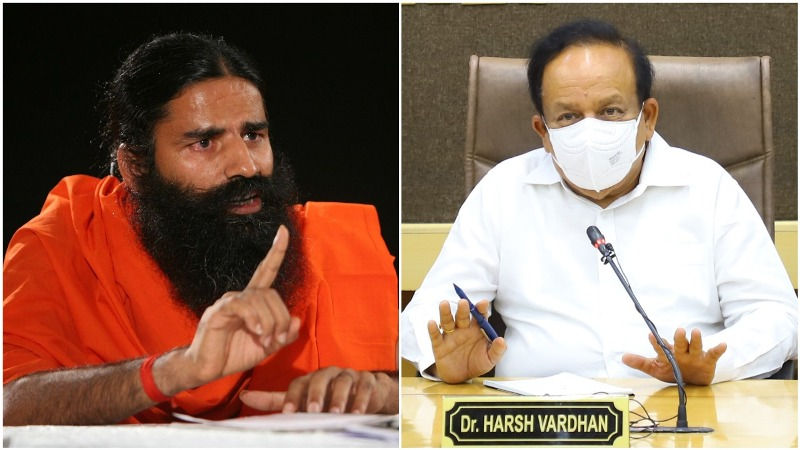 Take back your comment on allopathy: Harsh Vardhan writes to Baba Ramdev