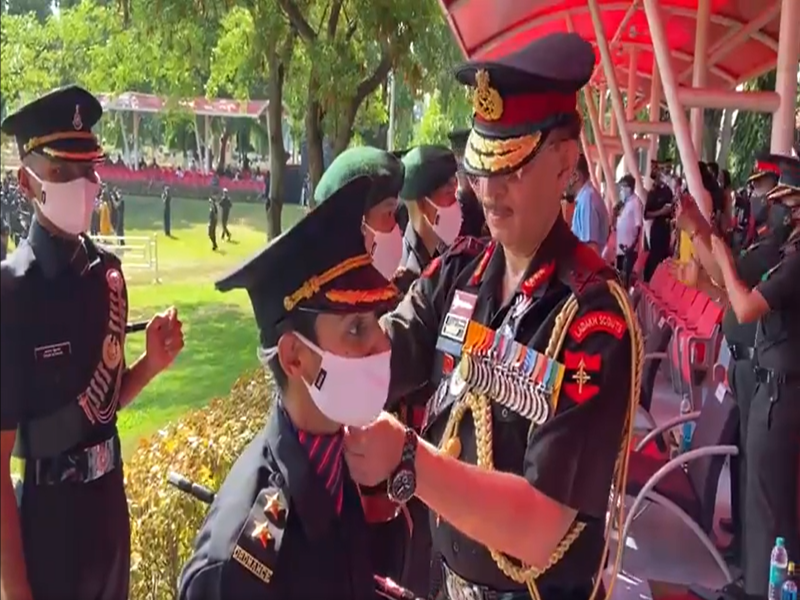 Pulwama martyr's wife earns Indian Army uniform after successfully passing army training