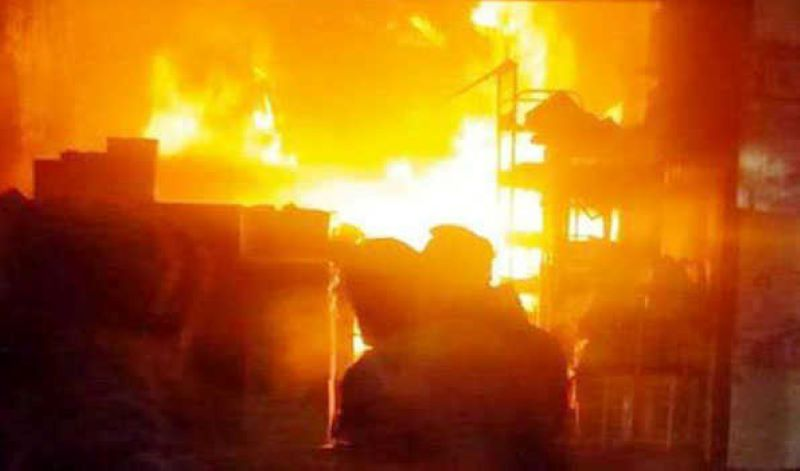 Kashmir: About 20 shops gutted, property worth crores destroyed in Baramulla