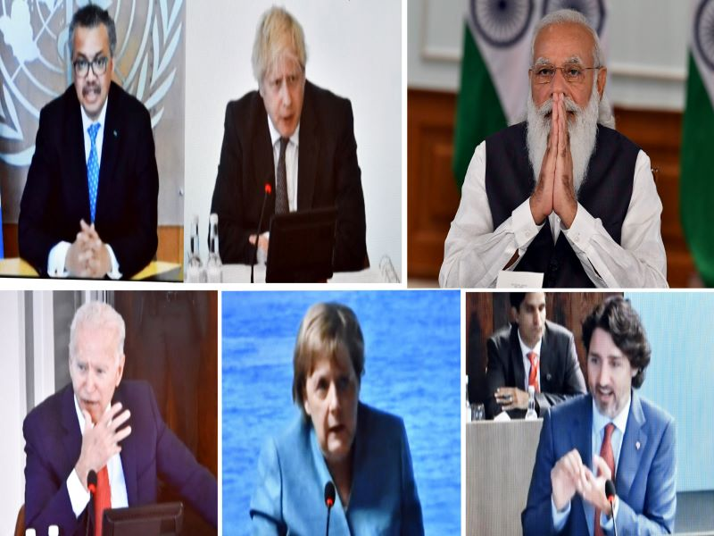 G7 Summit: PM Modi calls for united approach to fight Covid19, future pandemics at outreach session