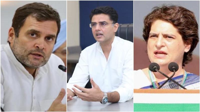 Rahul Gandhi, Priyanka Gandhi Vadra meet Sachin Pilot days after Punjab infighting