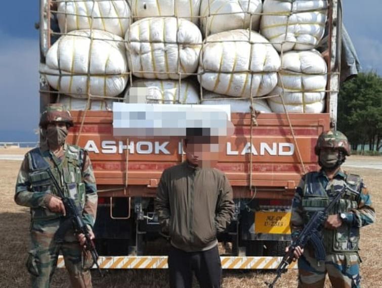 Assam Rifles seized illegal consignment in Mizoram